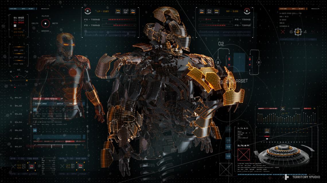Iron Man Suit Designing Software
